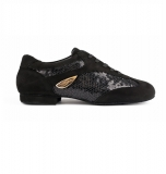 PortDance PD01 Fashion Nubuk-Sohle black Nubuck /Glitzer
